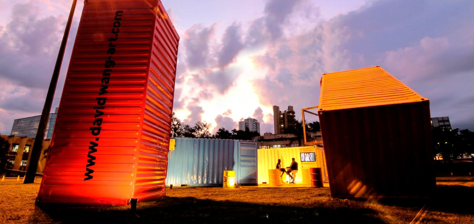 Art Containers Install